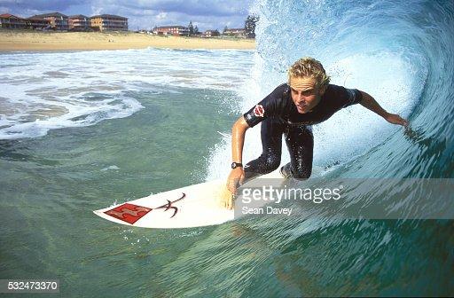 Surfer at Narrabeen
