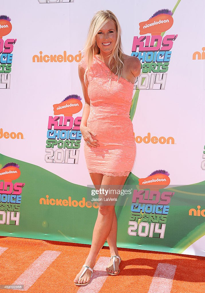 Surfer Bethany Hamilton attends the 2014 Nickelodeon Kids' Choice Sports Awards at Pauley Pavilion on July 17, 2014 in Los Angeles, California.