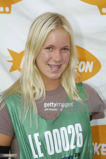 Surfer Bethany Hamilton during Nickelodeon's Worldwide Day of Play Backstage at Nick on Sunset Studios in Hollywood in Hollywood California United...