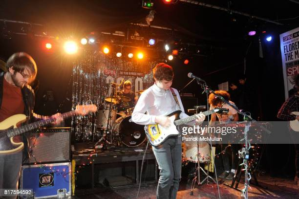 Surfer Blood attends SPIN Hosts The 2010 Year In Music Party Presented By NEW ERA With Performance By FLORENCE AND THE MACHINE at Don Hill's on...