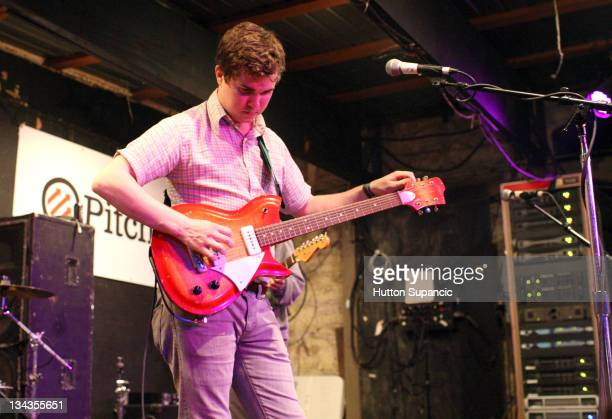 Surfer Blood performs at the 2011 SXSW Music Film Interactive Festival Pitchfork at Emo's Main Room on March 15 2011 in Austin Texas