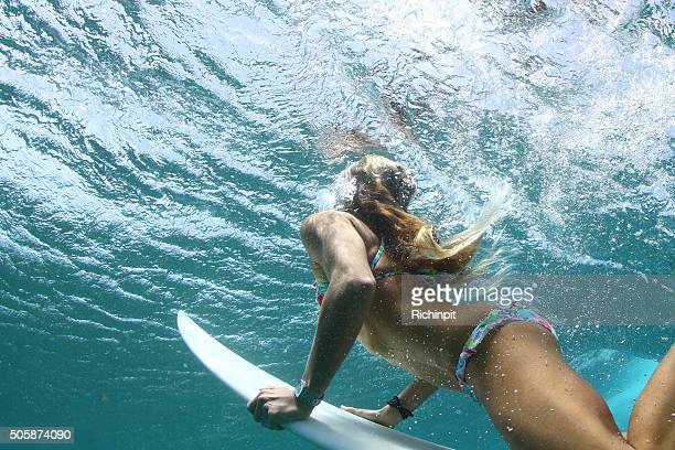 Surfer Girl comes up for air