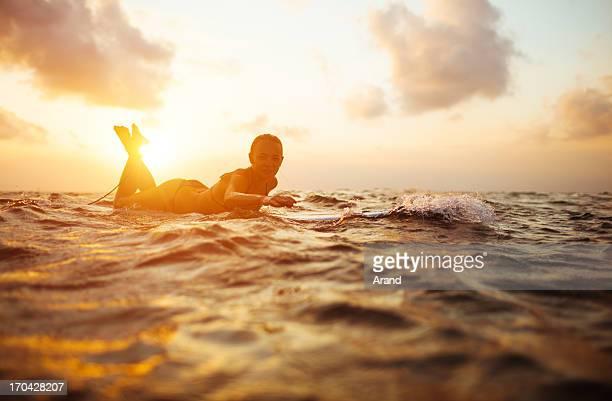 surfer Mädchen