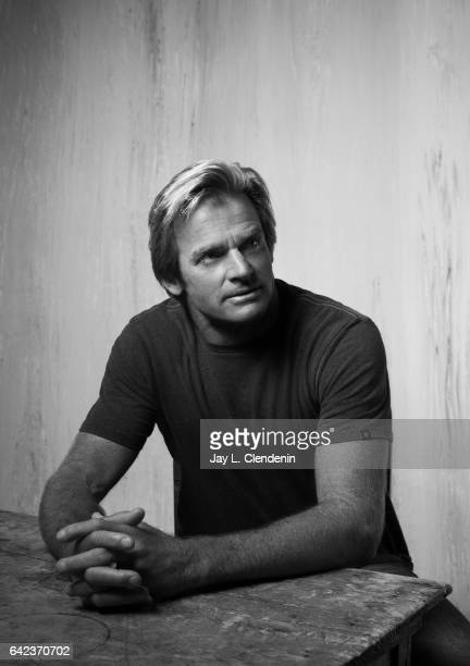 Surfer Laird Hamilton subject of the documentary film Take Every Wave The Life of Laird Hamilton is photographed at the 2017 Sundance Film Festival...