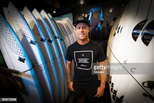COAST QLD Surfer Mick Fanning attends the launch if the Quiksilver Pro 2017 at the Quiksilver Boardriders Club on the Gold Coast Queensland