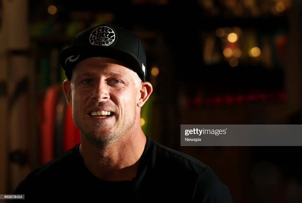 COAST, QLD - (EUROPE AND AUSTRALASIA OUT) Surfer Mick Fanning attends the launch if the Quiksilver Pro 2017 at the Quiksilver Boardriders Club on the Gold Coast, Queensland.