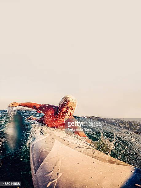 サーファーの波