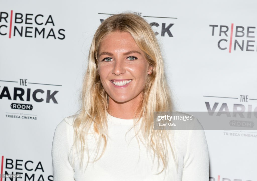 Surfer Stephanie Gilmore attends the 'Stephanie In The Water' New York Premiere at Tribeca Cinemas on August 12 2014 in New York City
