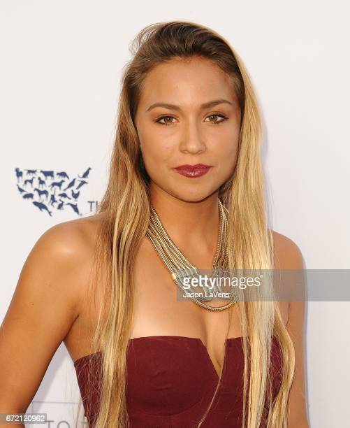 Surfer Tia Blanco attends Humane Society of The United States' annual To The Rescue Los Angeles benefit at Paramount Studios on April 22 2017 in...