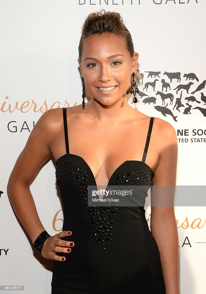 Surfer Tia Blanco attends the Humane Society of The United States 60th Anniversary Gala at The Beverly Hilton Hotel on March 29, 2014 in Beverly Hills, California.