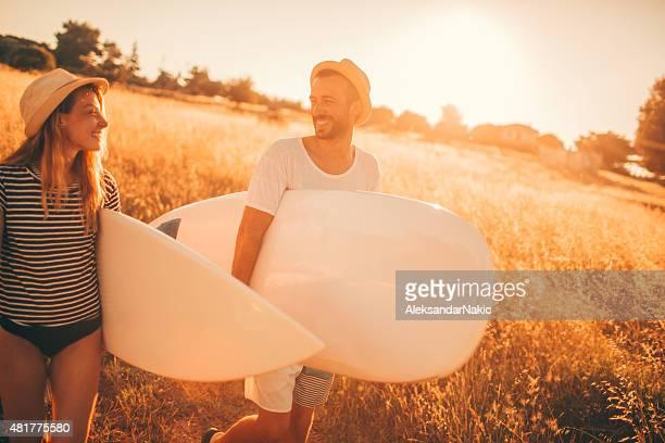Surfer-Lebensstil