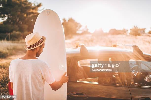 Surfer's lifestyle