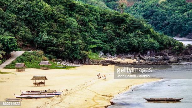 Surfers on Catanduanes Island