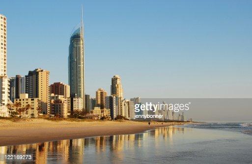 Surfers Paradise, Gold Coast, Queensland, Australia,Coastline