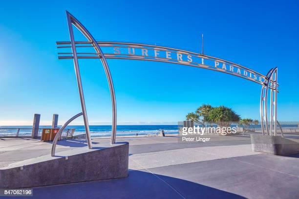 Surfers Paradise Sign,Gold Coast,Queensland,Australia