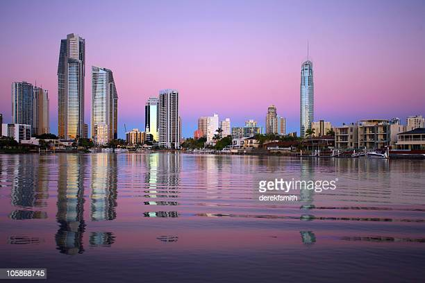 Surfers Paradise Sunset