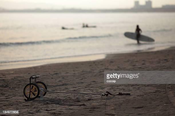 Surfing at Shonan beach