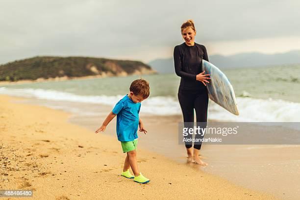 Surfen-Familie