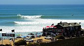 Hurley Pro at Trestles Overall view of miscellaneous action during competition at Lower Trestles Samsung Galaxy ASP Men's World Championship Tour...