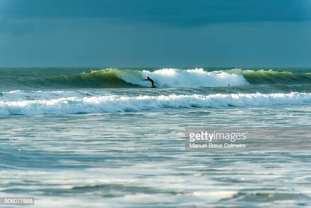 Surfing in Cádiz