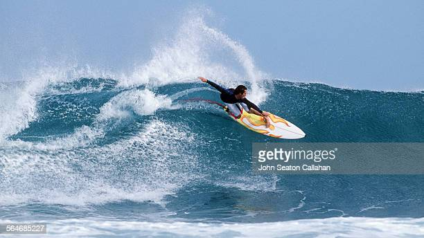 Surfing in the Indian Ocean