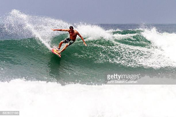 Surfing in the Turtle Islands