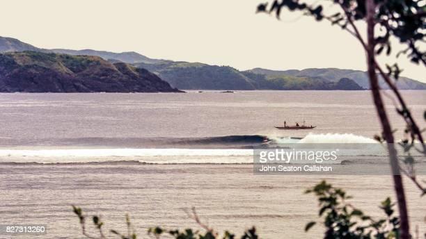 Surfing on Catanduanes Island