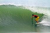 Surfing on Hainan island
