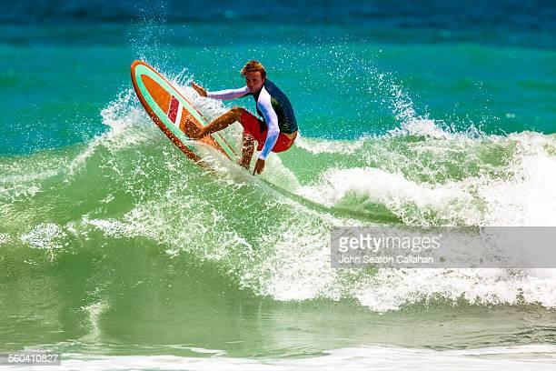 Surfing on Masirah island