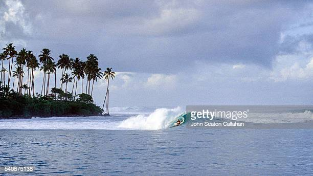 Surfing on Nias Island