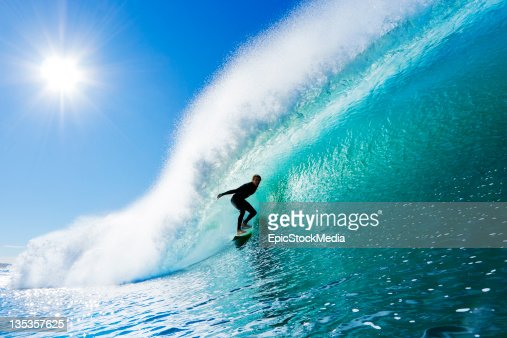 Surfing : Stock Photo