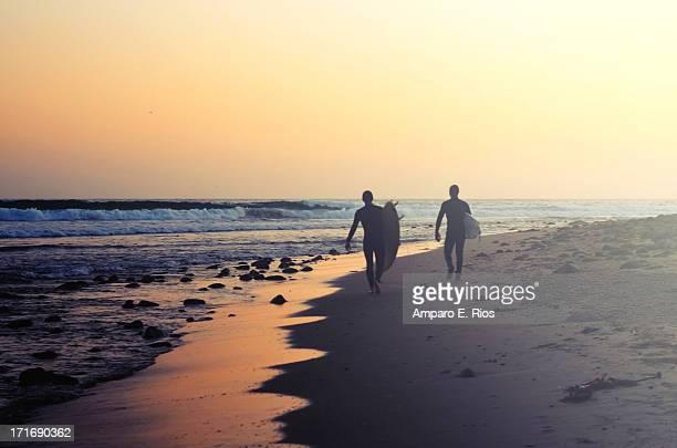 Surfing Rincon Point Surfers Beach