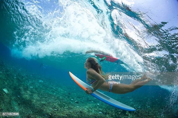 Surfing traffic jam