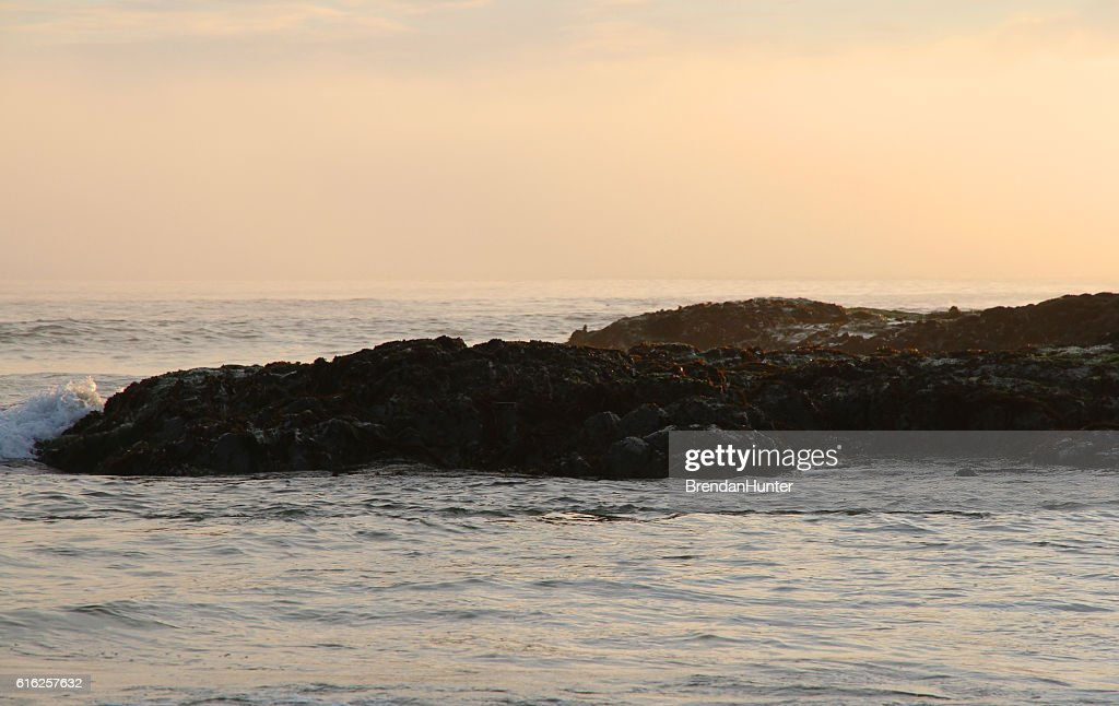 Surge of Golden Water : Stock Photo