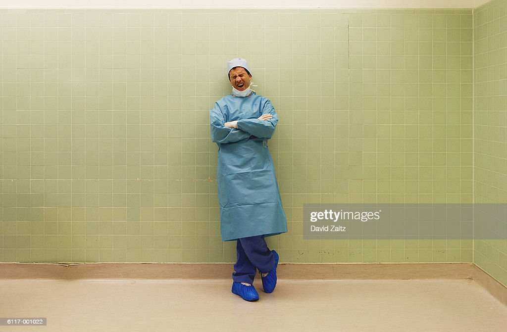 Surgeon in Operating Room : Stock Photo