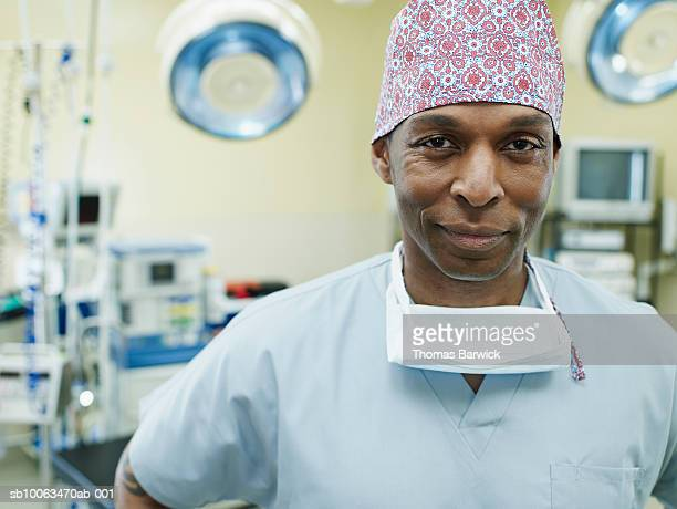 Surgeon in operation theatre, portrait