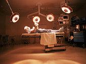 Surgeon performing self-surgery