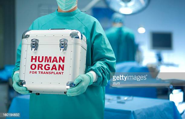 Chirurgien avec Don d'organe