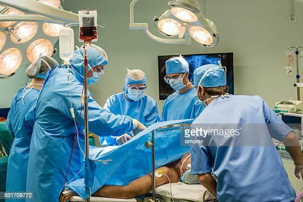 Chirurgen in Betrieb theatre