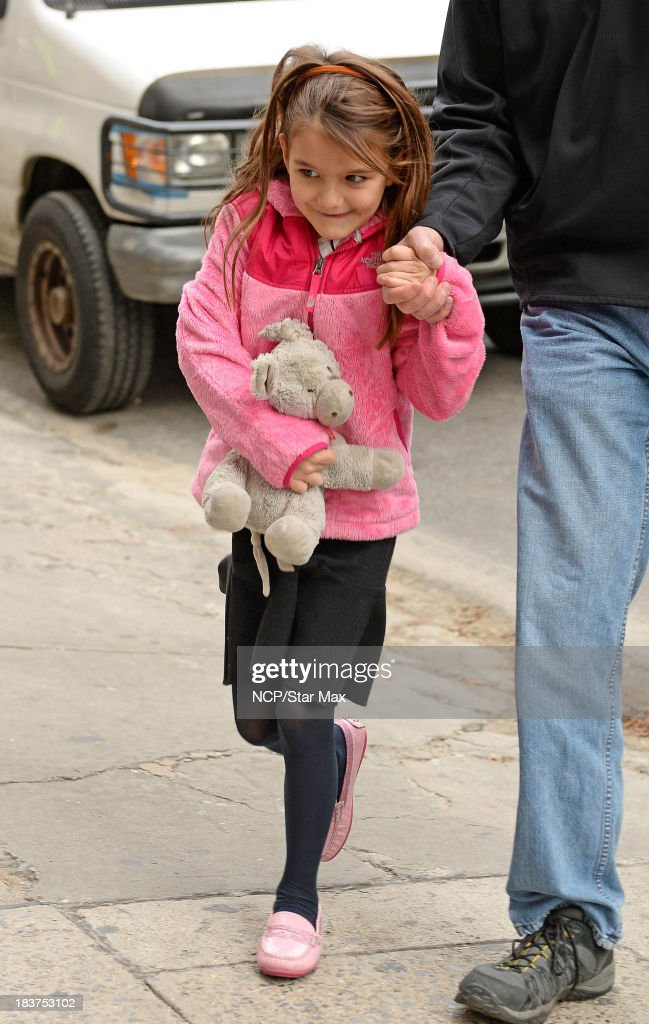 <a gi-track='captionPersonalityLinkClicked' href=/galleries/search?phrase=Suri+Cruise&family=editorial&specificpeople=4029470 ng-click='$event.stopPropagation()'>Suri Cruise</a> is seen on October 9, 2013 in New York City.
