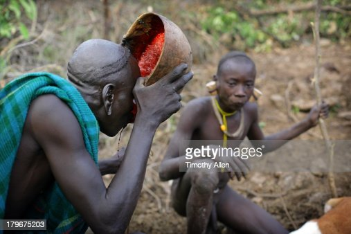 Which African Tribe Drinks Cow S Blood