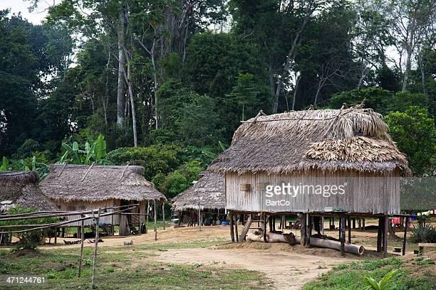 Suriname, village.