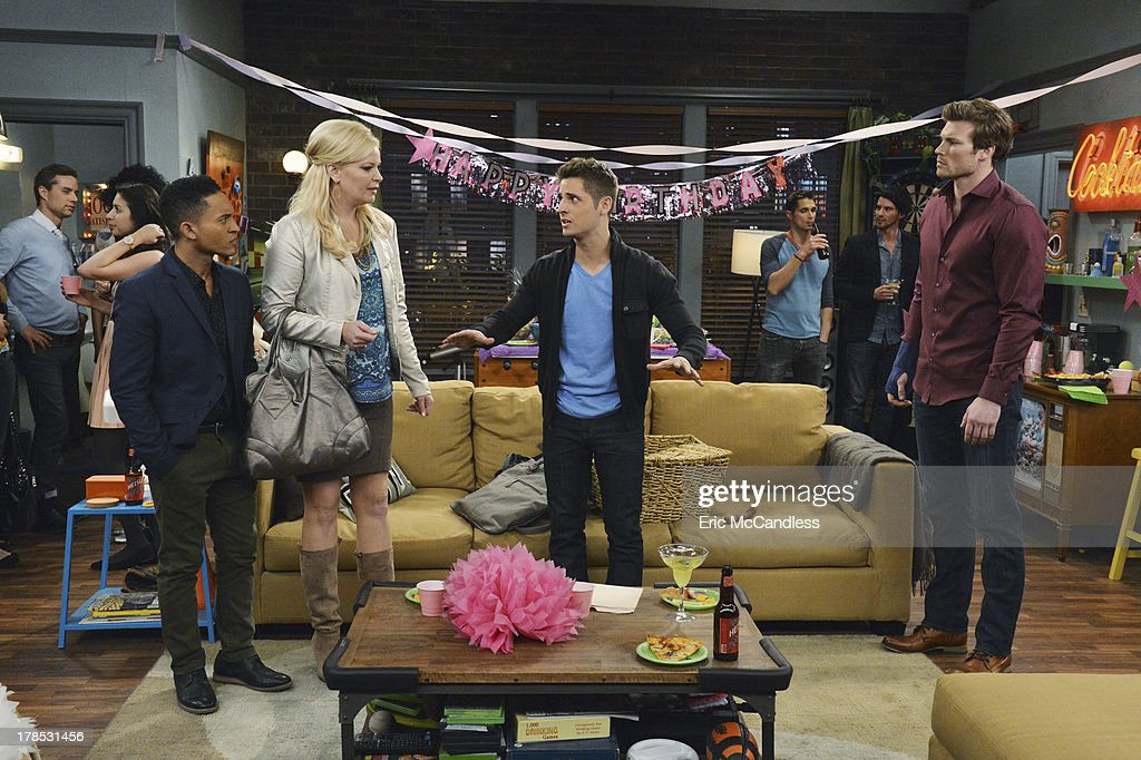 DADDY - 'Surprise!' - Ben organizes the perfect birthday for Riley but his plans go awry and Emma's mother makes an appearance on the summer finale of 'Baby Daddy,' airing Wednesday, September 4th, at 8:30pm ET/PT on ABC Family. Photos by Eric McCandless / ABC Family Via Getty Images THELER