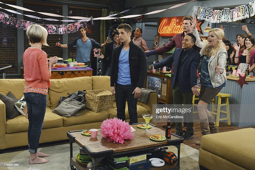 DADDY - 'Surprise!' - Ben organizes the perfect birthday for Riley but his plans go awry and Emma's mother makes an appearance on the summer finale of 'Baby Daddy,' airing Wednesday, September 4th, at 8:30pm ET/PT on ABC Family. Photos by Eric McCandless / ABC Family Via Getty Images PETERMAN