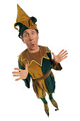 Surprised jester