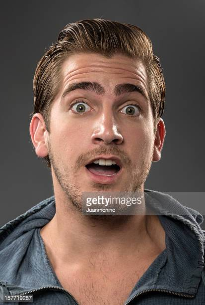 Surprised Young man (real people)