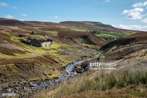 Surrender Lead smelting mill, Reeth, Yorkshire Dales, England