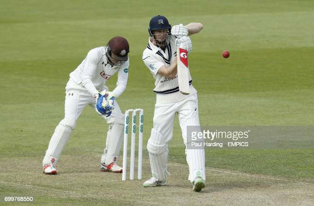 Surrey's Ben Foakes and Middlesex's Adam Voges