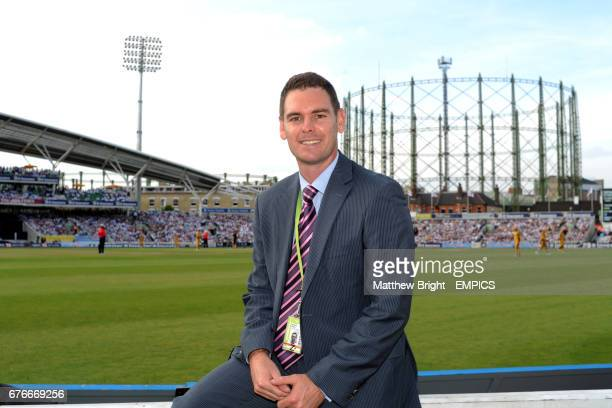 Surrey's communications manager Nathan Ross at the Brit Oval