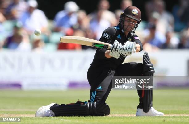Surrey's Jason Roy during the Royal London One Day Cup Semi Final match at New Road Worcester